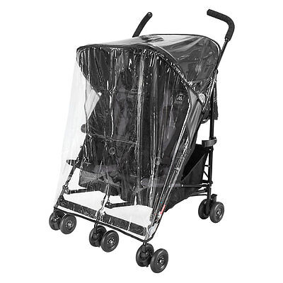Maclaren Twin Raincover