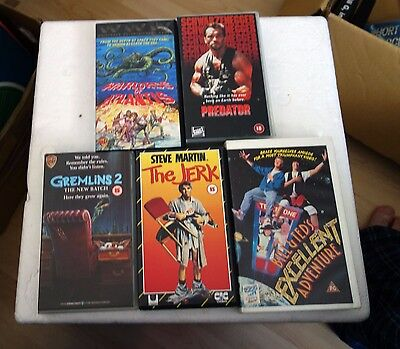 Classic Vhs Video Cassette Movies / Bundle 1