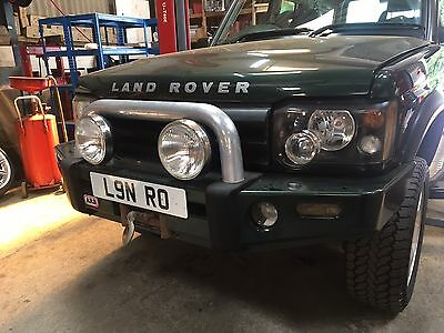 Land Rover Discovery 2 ARB Heavy Duty Off Road Winch Bumper