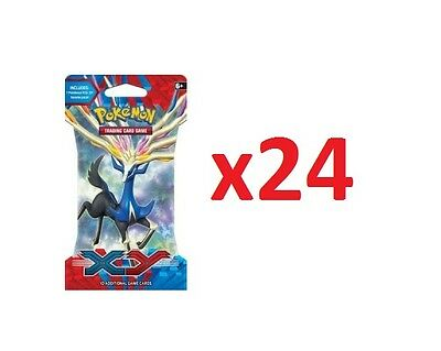 Pokemon  Xy Base Set - 24 X Sleeved Booster Pack - In Sealed Box !!!