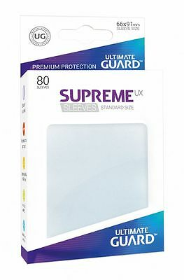 Ultimate Guard - Supreme UX Sleeves Standard Frosted 80 Pieces Card Sleeves
