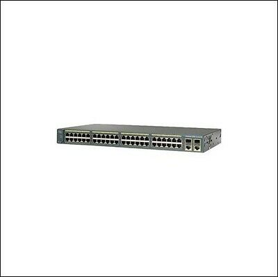 New Cisco Systems WS-C2960X-48LPS-L | incl 19% VAT | 2 years Cybertrading warran