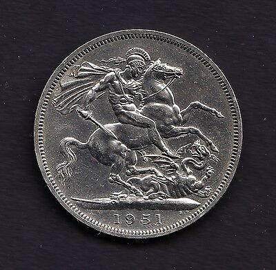 1951 CROWN British Coin King GEORGE VI ***Collectors***
