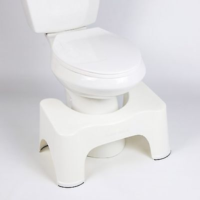 Toilet Potty Step Stool Squatty Bath Squat Aid For Constipation Piles Relief