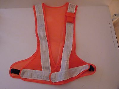 LED High Visibility Lightweight Safety Vest FROM THE UK Jogging Cycling