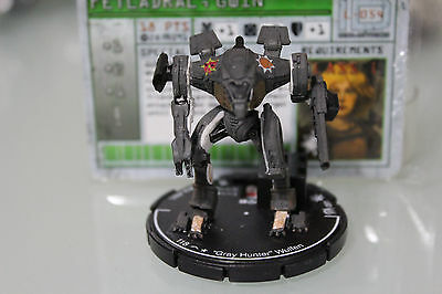 "Wizkids MechWarrior GWIN FETLADRAL ""GRAY HUNTER"" WULFEN (Unique) - LOOSE"