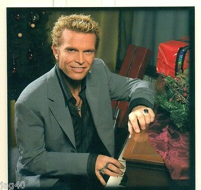 Signed BILLY IDOL Happy Holidays Christmas Card AUTOGRAPH Rare LIMITED  edition