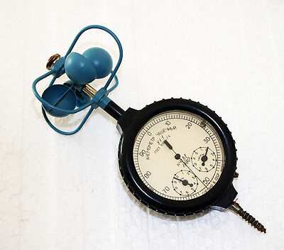 Vintage Anemometer Wind Indicator Ussr With Case Rare Low Price