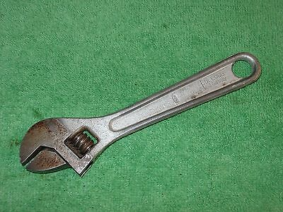 VINTAGE BULLDOG TOOL Co. 6'' ADJUSTABLE WRENCH MADE IN WEST GERMANY
