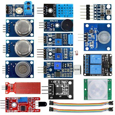Smart Home Sensor Modules Kit for Arduino Raspberry Pi DIY Smart USA SELLER