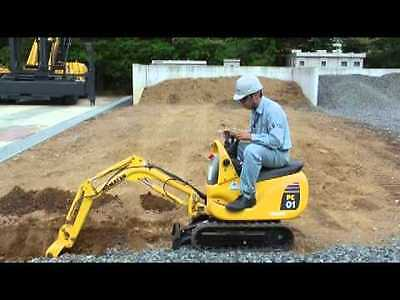 Man and Very Small Digger Hire (Midlands)