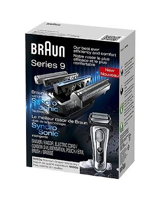 NEW authentic sealed Braun Series 9 dry wet  9093s Electric Shaver razor 5 3 7