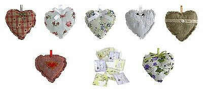 Job Lot/wholesale 20 Lavendar Hearts & Room Scenters (Ag)