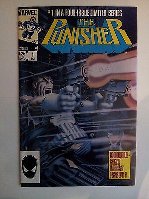 The Punisher #1 1st series 1986 High Grade