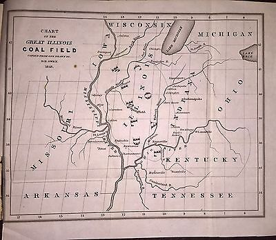 1843 Map of Midwest