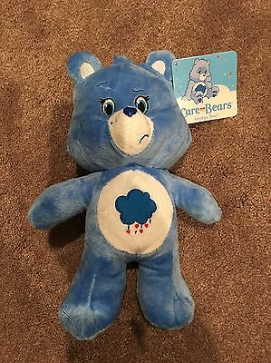 "Care Bears, Grumpy Bear, 9.5"" Plush Toy, American Greetings, Kellytoy"