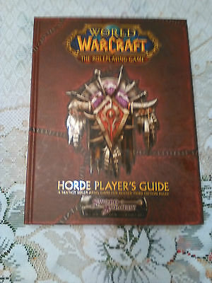 WarCraft Horde Player's Guide - World of Warcraft The Roleplaying Game (NM)