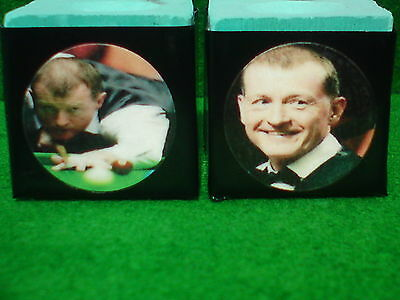 Pool & Snooker Personalised Triangle Chalk x2 -  photos, initials, logos, names.
