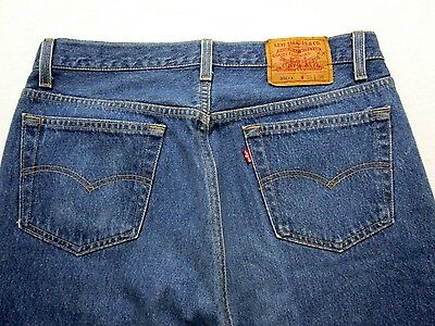 Vtg Levi's 501 Jeans ~ measure 33 x 34 ~ Red Tab MADE IN USA