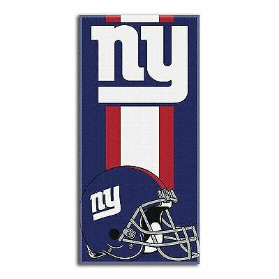 New York Giants Beach Towel NFL Zone Read Large Towel