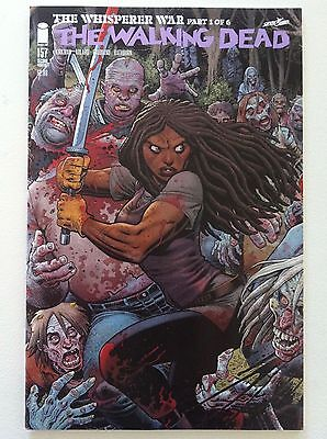 Walking Dead #157 Second Printing Arthur Adams Connecting Variant Cover Nm Art