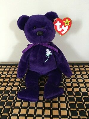Ty Beanie Baby Princess Diana handmade in Indonesia PE Pellets (No Space) Rare !