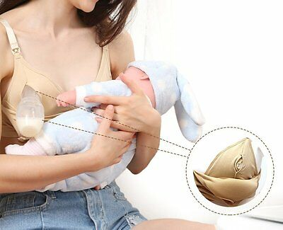 Easy Expression Bustier Hand Free Pumping Nursing Maternity Bra New Style Large