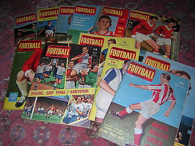 Charles Buchans FOOTBALL Monthly - 1962 Complete  -Spurs, Burnley