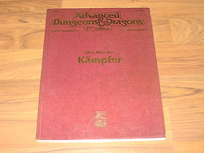 AD&D 2nd Edition Alles über den Kämpfer Softcover 138 Seiten deutsch 2110G