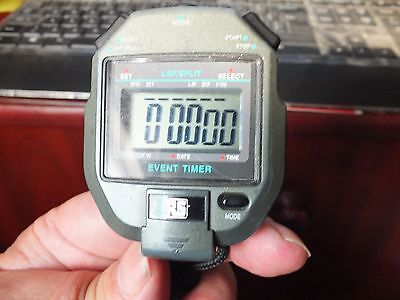 Radiospares RS event timer/stopwatch on lanyard