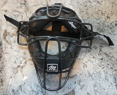 MacGregor - MCB 29 Umpire/ Catcher Mask [w/ Black Padded Cage] (EUC)