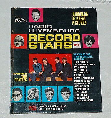 RADIO LUXEMBOURG RECORD STARS BOOK ANNUAL No.4 1965 The Beatles, Rolling Stones