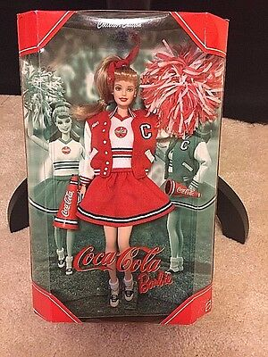 2000 Coca-Cola Cheerleader Barbie Collector Edition 4Th In Series #28376