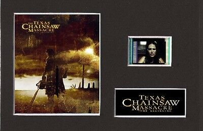 Texas Chainsaw Massacre The Beginning Film Cell Presentation 6 x 4 Mounted