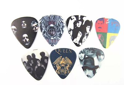 12 Plettri chitarra basso Queen Rock band guitar picks 1.00mm Heavy
