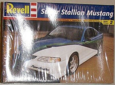 SUPER STALLION MUSTANG Model Kit--skill level 2, still factory sealed