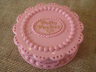 Vintage Bluebird Polly Pocket 1994 Birthday Party Cake Surprise Compact Only
