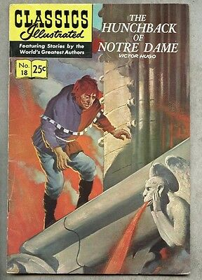 Classics Illustrated #18-1970 fn- 18th edition Hugo Hunchback Of Notre Dame