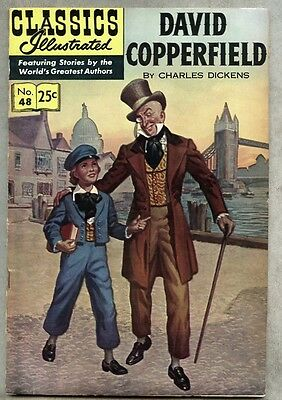 Classics Illustrated #48-1969 fn 14th edition Dickens David Copperfield