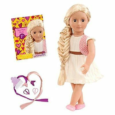 Our Generation Phoebe Hair Grow Play Doll From Hair to There