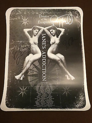 Jane's Addiction-2012 Theater of Escapists Autographed Lithograph-Ver. #2 Poster