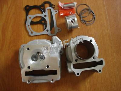 47mm big bore kit Cylinder Set for Scooter 139QMB GY6 50cc upgrade to GY6 80cc