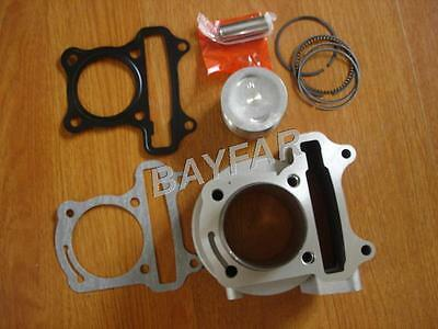 47mm big bore Cylinder Set for Scooter 139QMB GY6 50cc upgrade to GY6 80cc