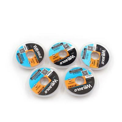 5 Piece Desoldering Wire Braid Soldering Wick Suction 1.5 M Length Accessory