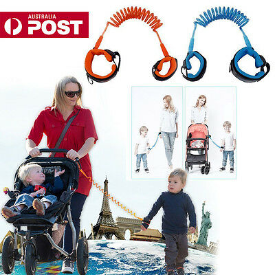 Kids Toddler Baby Safety Walking Anti-lost Harness Strap Wrist Leash Belt Hand