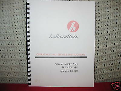 Hallicrafters SR-150 Operating & Service Manual