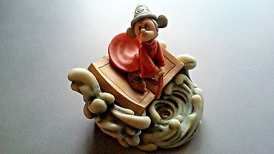 Disney Harmony Kingdom 2004 A WHIRL OF TROUBLE LE 1500 Sorcerer Mickey