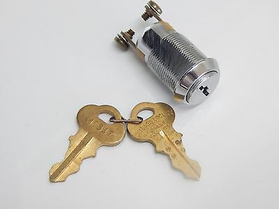 Chicago Lock Key Ignition Switch Lock On/off Stainless Steel With 2 # 2347 Keys