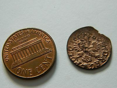 Very Old Unknown Copper Coin