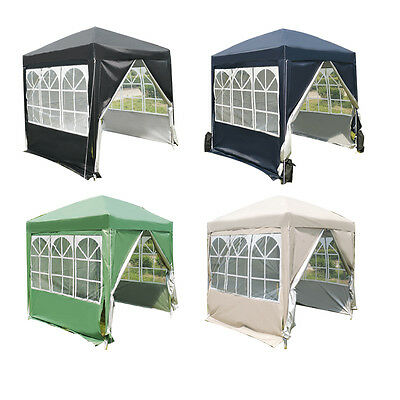 Panana 2x2M WATERPROOF Pop Up Gazebo Garden Canopy Marquee Awning Party Tent NEW